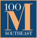 100 m logo