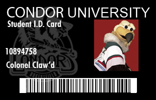 student ID - colonel