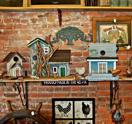 Dave Smoot's birdhouses