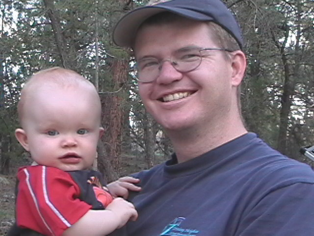 Zachary and Daddy 1