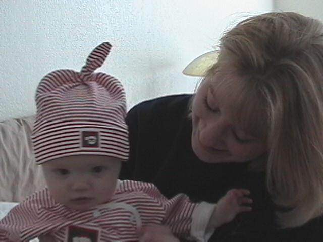Zachary and Momma 1