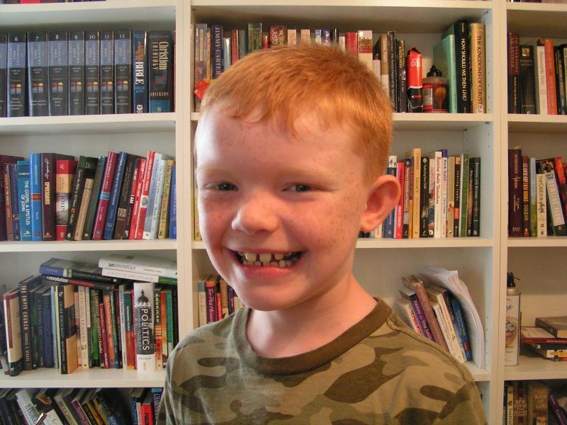 Zachary turns 9