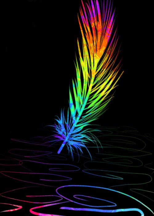 Rainbow Feather