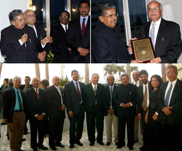 Minister Vayala recognized by GOPIO & community groups in Florida, May 2011