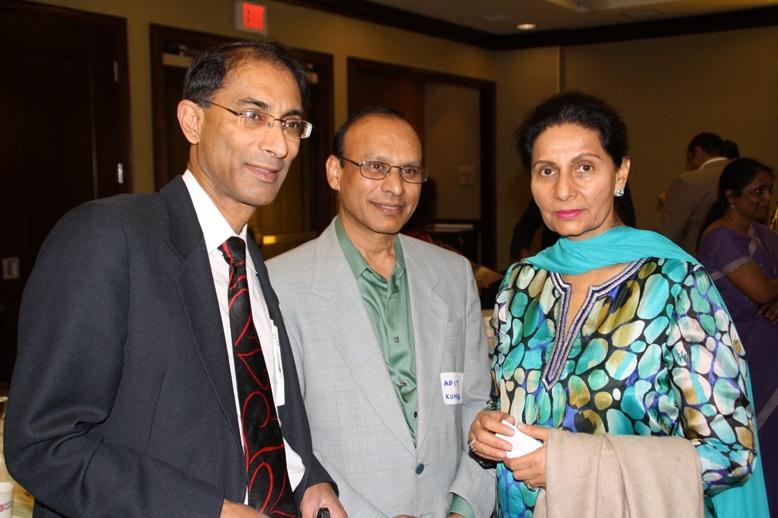 Mini PBD. Toronto.June 2011. Dr Rambikar, Adit Kumar and Min.Preneet Kaur