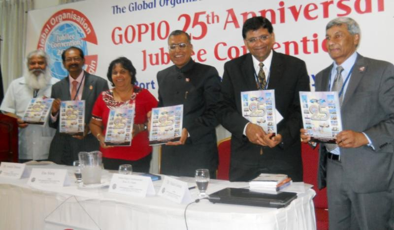 Release of the GOPIO Jubilee Convention Souvenir Brochure