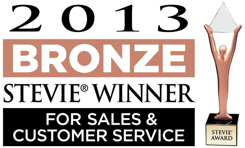 Treeline wins Stevie Award for sales and customer service in 2013