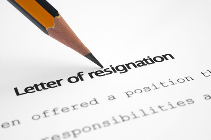 How to resign from your sales job