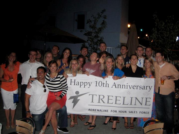Treeline 10 year anniversary