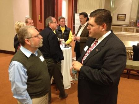 Terry Bradbury, AIA and Rep. Ed Clere