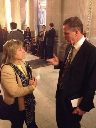 Carolyn Schleif, AIA and Rep. Steve Braun