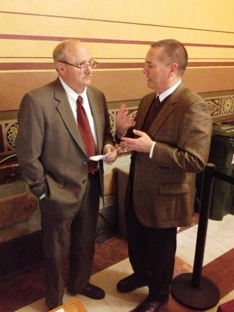 Sen. Kenley and Bill Payne, AIA