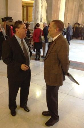 Rep. Torr and Bill Payne