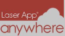 Laser App Anywhere Logo