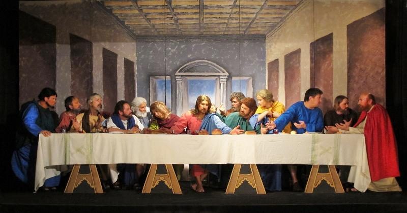 First Colo Sprngs Living Art Last Supper