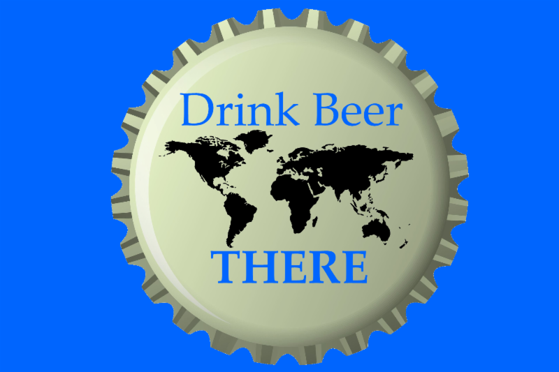 drink beer there logo