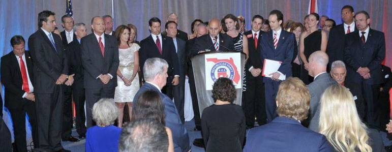 Richard DeNapoli with Elected Officials, Candidates, Former Elected Officials