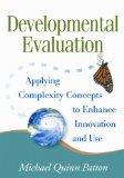 Developmental Evaluation book cover