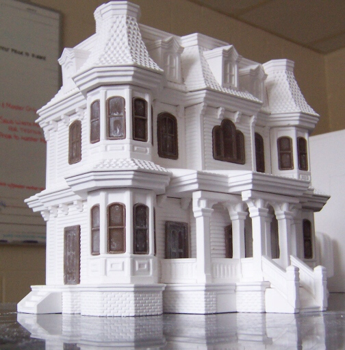 QV Lighted House Model