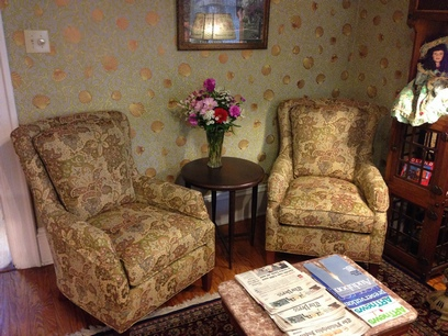 New Parlor chairs in Prince Albert Hall