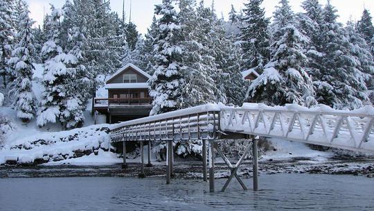 Winter at Chinook Shores Lodge