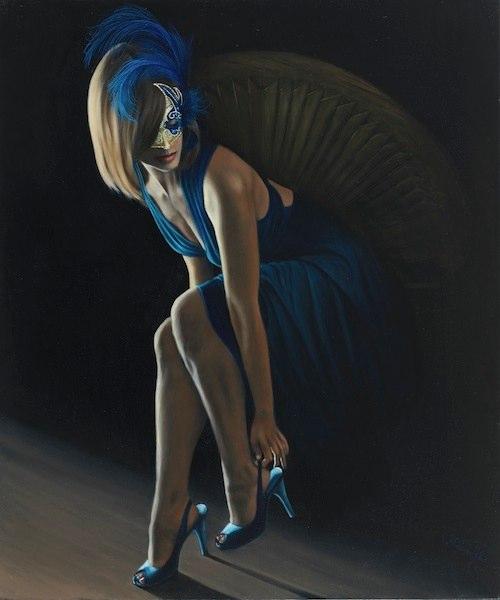 © Nicholas Petrucci La Femme en Bleu 2 36