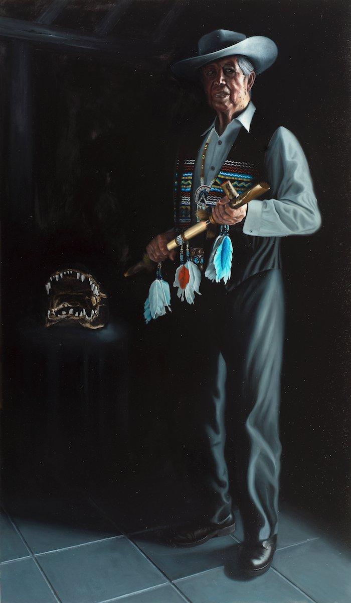 Chairman Buffalo Tiger Image - Nicholas Petrucci