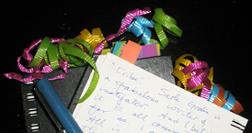 Patrice Journal Ribbons