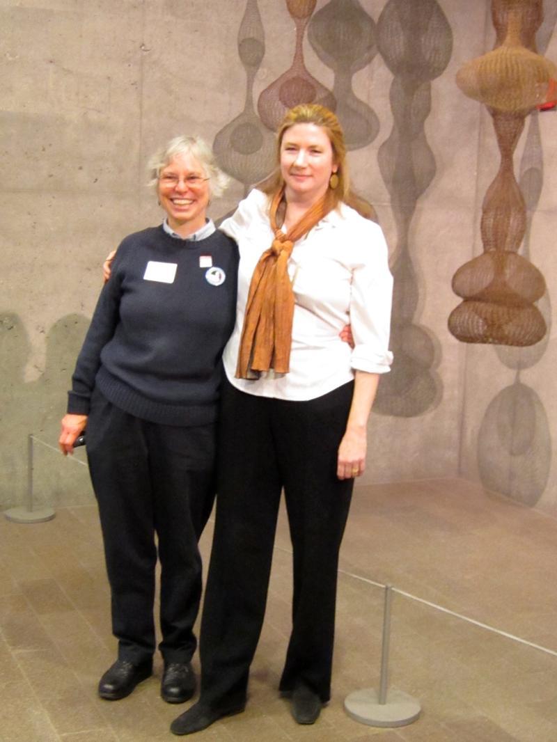 Martha Richards and Margaret Danielak