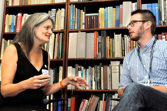 ROHO Historian Sam Redman interviewing Susan Honeyman Crawford