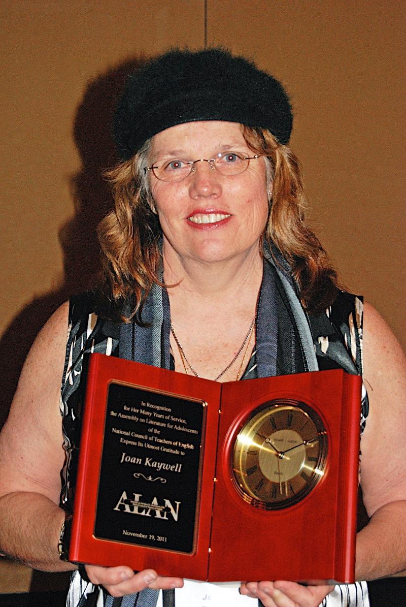 Former Membership Secretary Joan Kaywell