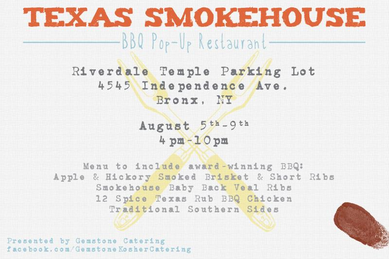Texas Smokehouse BBQ Pop-Up Restaurant By Gemstone Catering