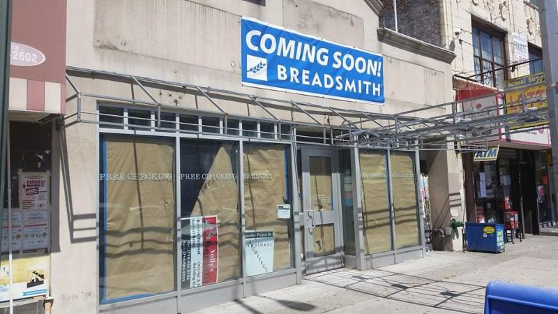 Breadsmith coming to Brooklyn