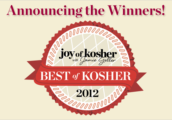 Joy of Kosher Best of 2012 Winners