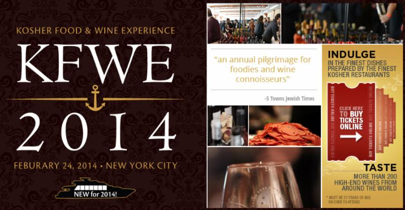 Kosher Food & Wine Experience 2014