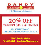 Dandy Cleaners 20% Off