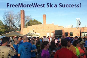 FreeMoreWest 5k Run