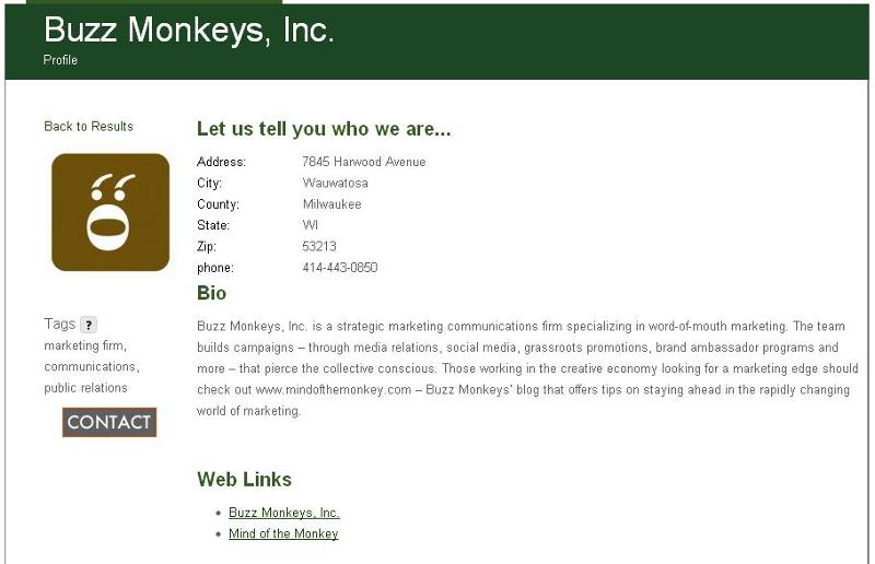 Buzz Monkeys Profile