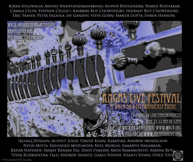 Ragas Live Festival WKCR June 2012