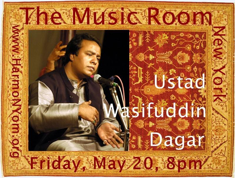 Wsifuddin Dagar Music Room