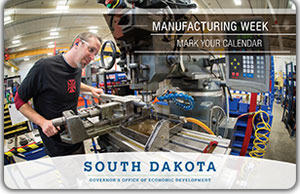 Manufacturing Week Postcard