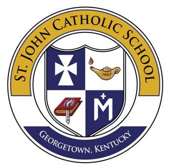 St. John Catholic School logo