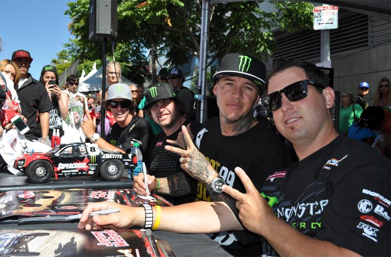 Drivers Loctite booth x games 1