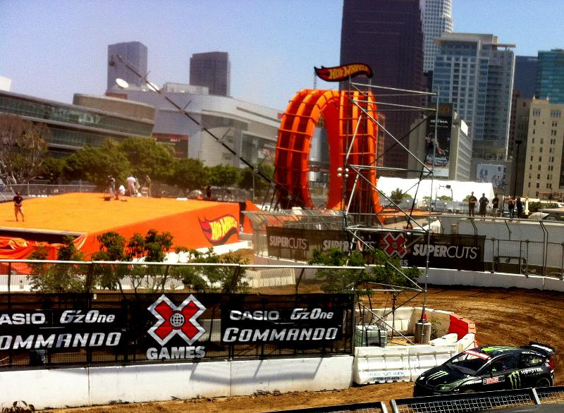 Liam racing x games 2012