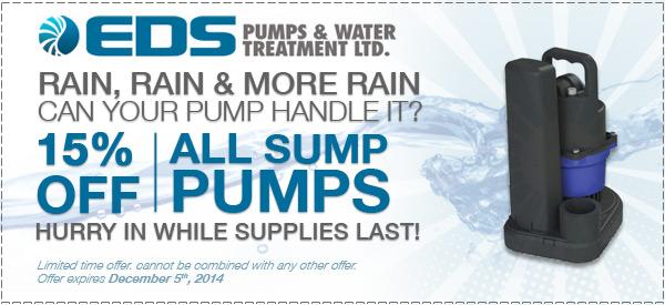 EDS Pumps November Special
