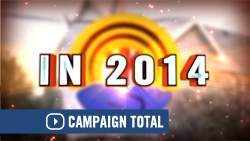 2014 United Way Campaign results