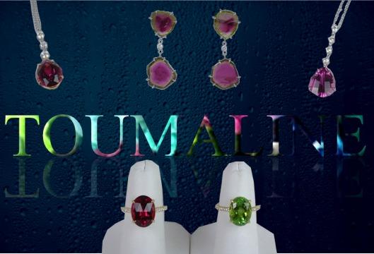 Tourmaline jewelry picture