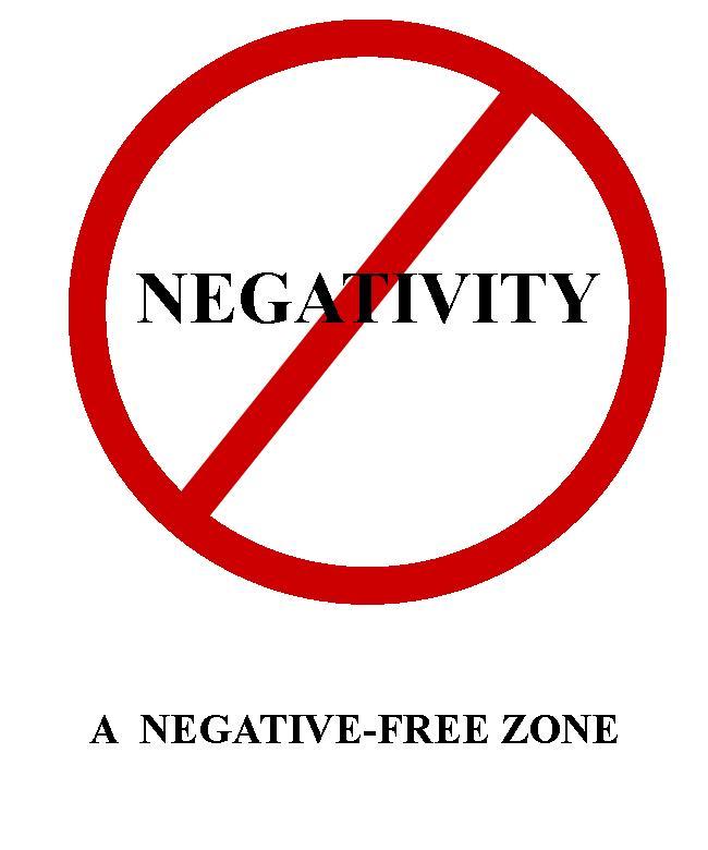 Negativity Free Zone