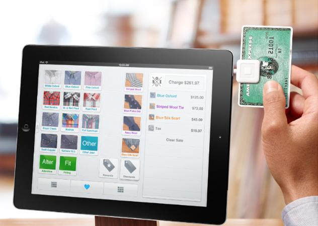 Square Point of Sale Tablet
