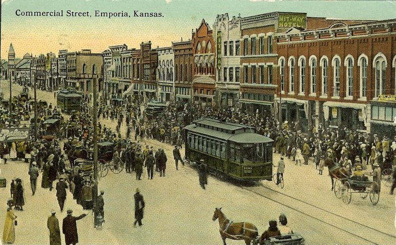 Downtown Emporia Cable Car